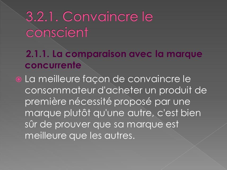 3.2.1. Convaincre le conscient