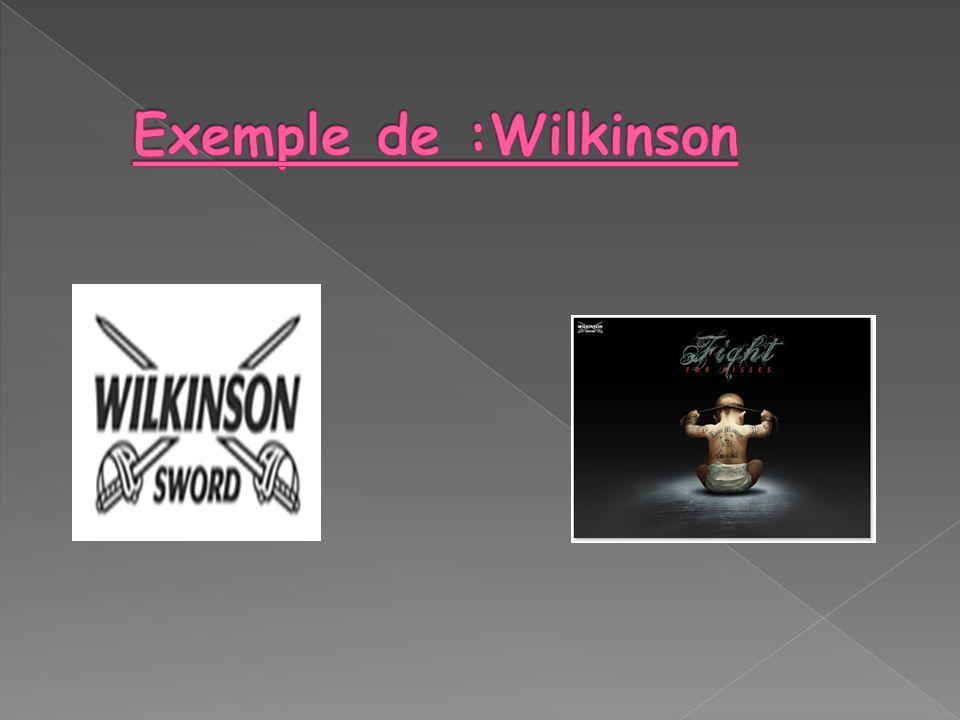 Exemple de :Wilkinson