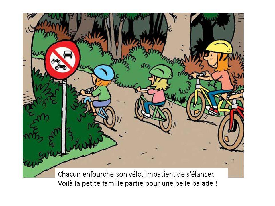 Chacun enfourche son vélo, impatient de s'élancer.