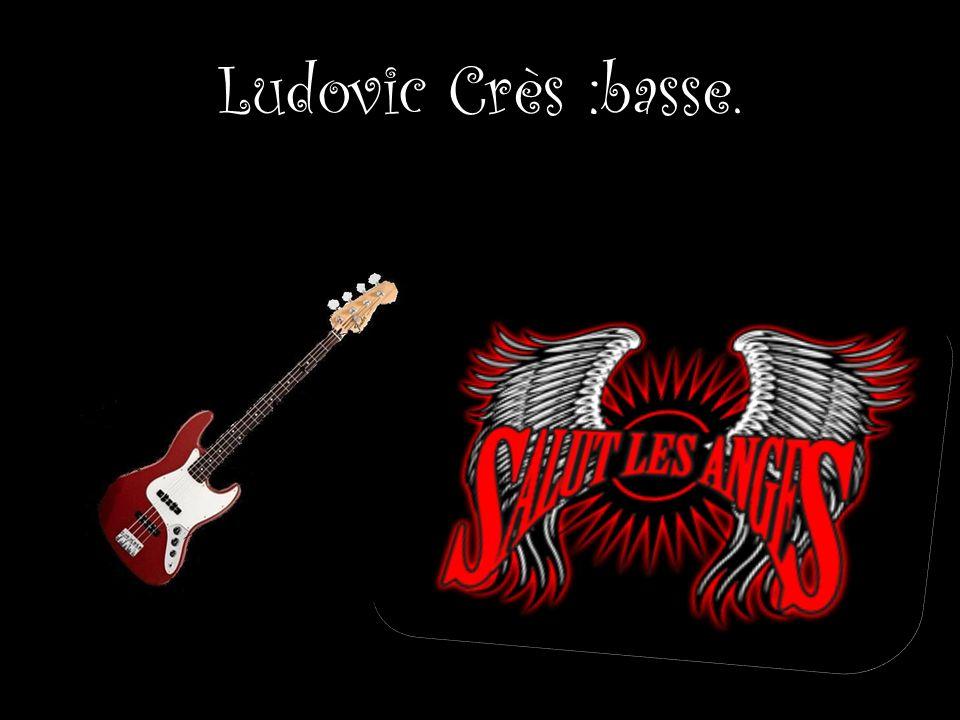Ludovic Crès :basse.