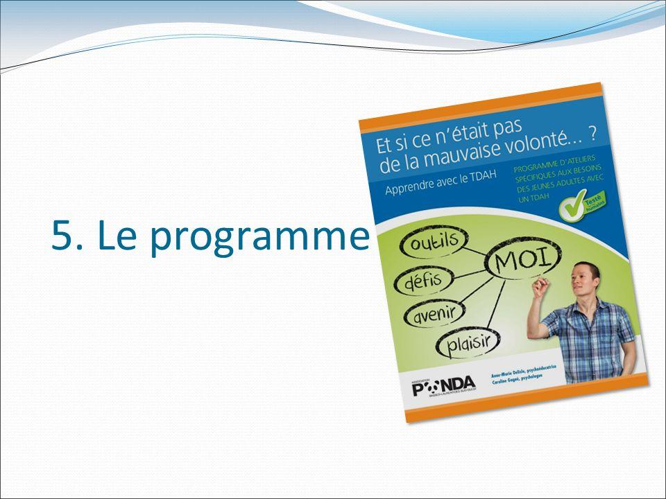 5. Le programme