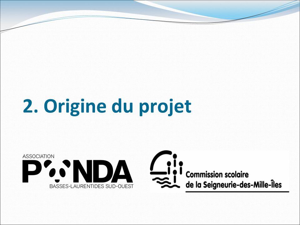 2. Origine du projet