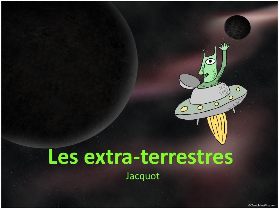 Les extra-terrestres Jacquot