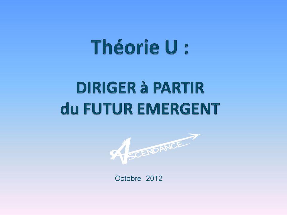 Théorie U : DIRIGER à PARTIR du FUTUR EMERGENT