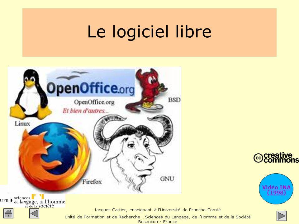 Le logiciel libre Vidéo INA (1998)