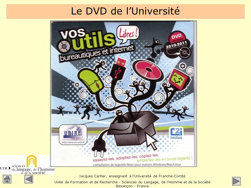 Le DVD de l'Université
