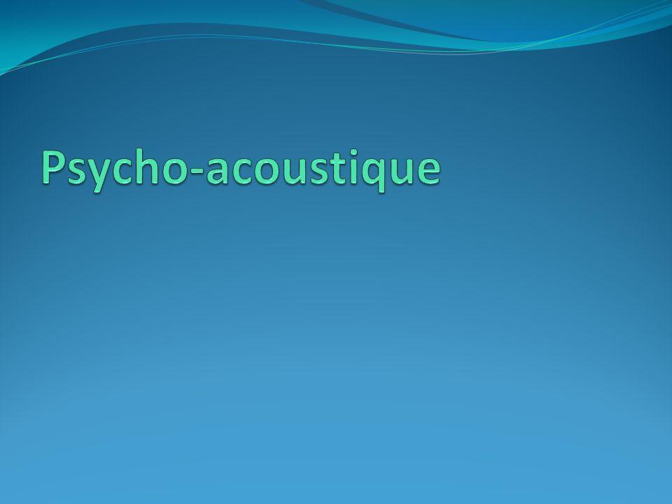 Psycho-acoustique