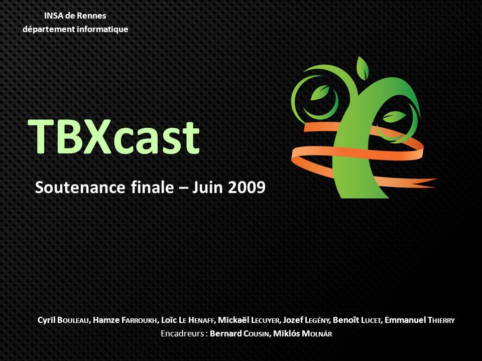 Soutenance finale – Juin 2009