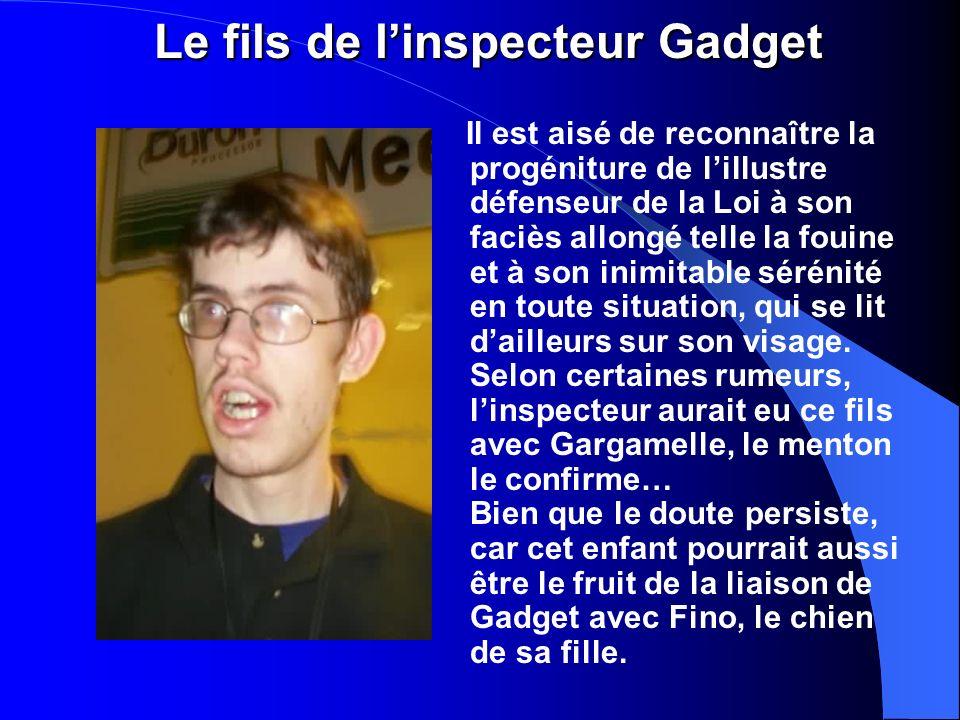 Le fils de l'inspecteur Gadget