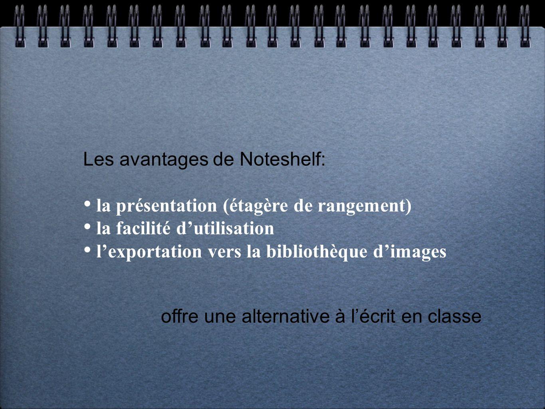 offre une alternative à l'écrit en classe