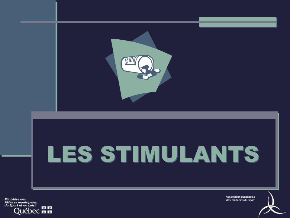 LES STIMULANTS