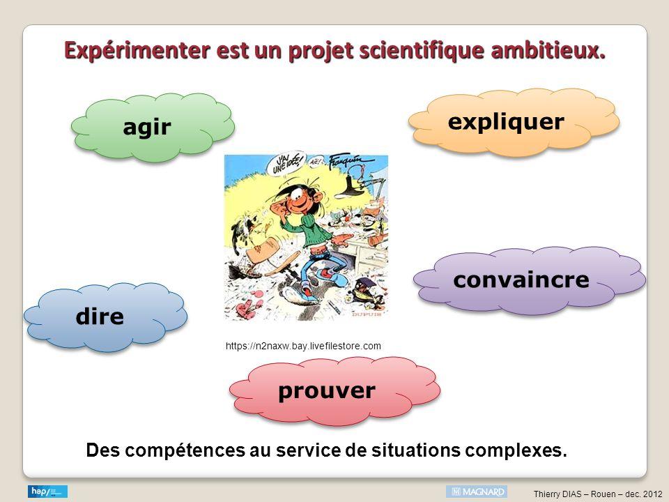 Expérimenter est un projet scientifique ambitieux.