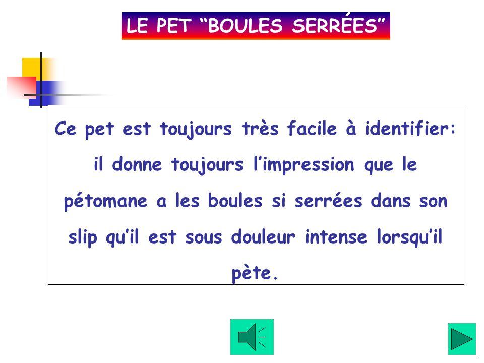 LE PET BOULES SERRÉES