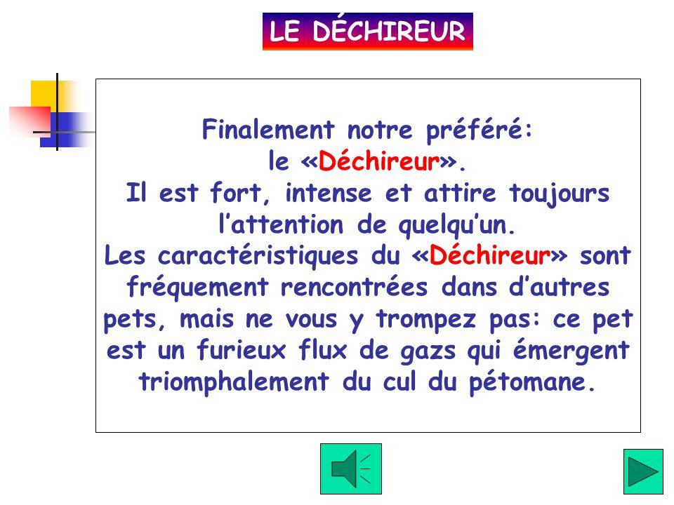LE DÉCHIREUR