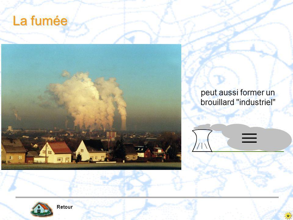 peut aussi former un brouillard industriel