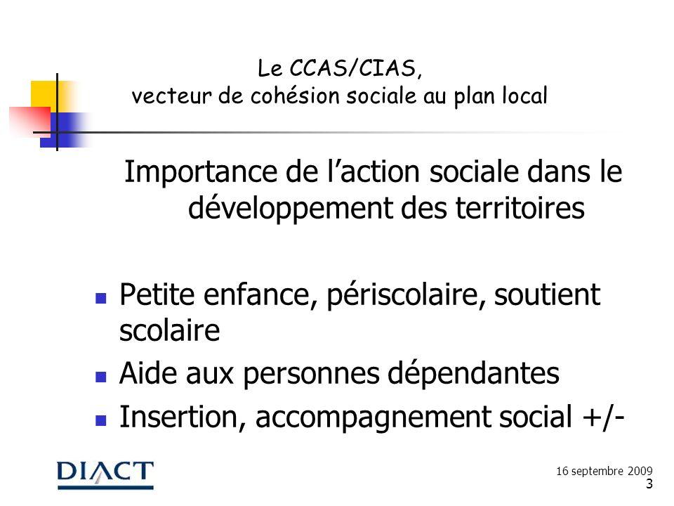 Importance de l'action sociale dans le développement des territoires