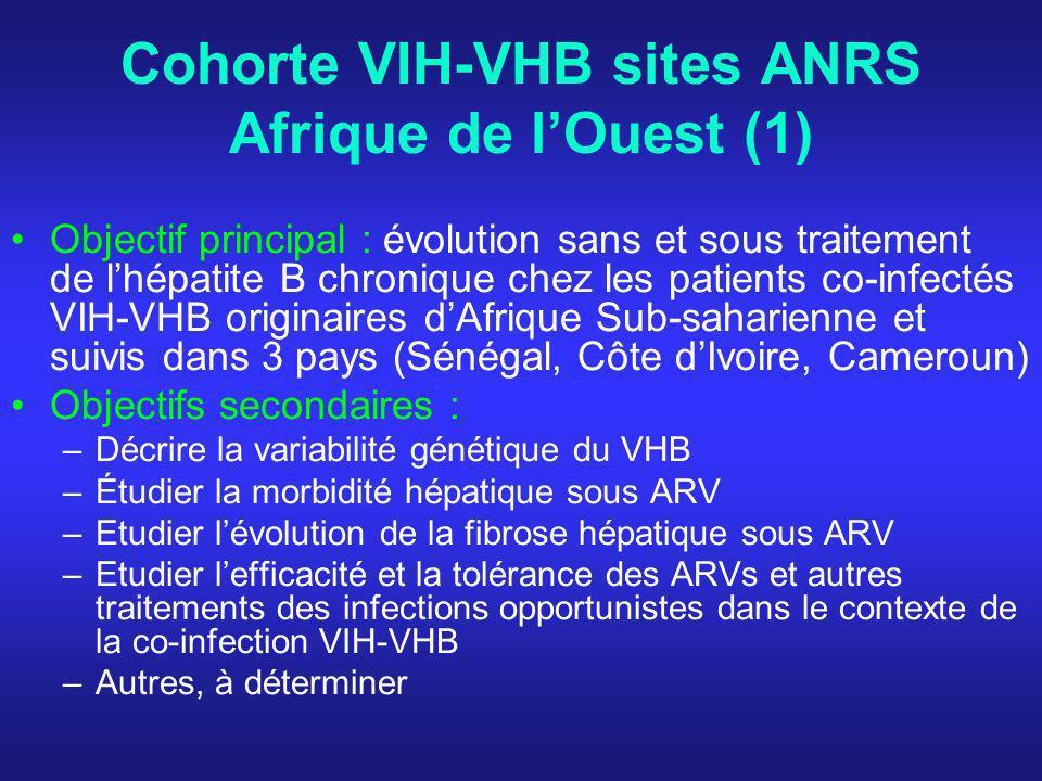 Cohorte VIH-VHB sites ANRS Afrique de l'Ouest (1)