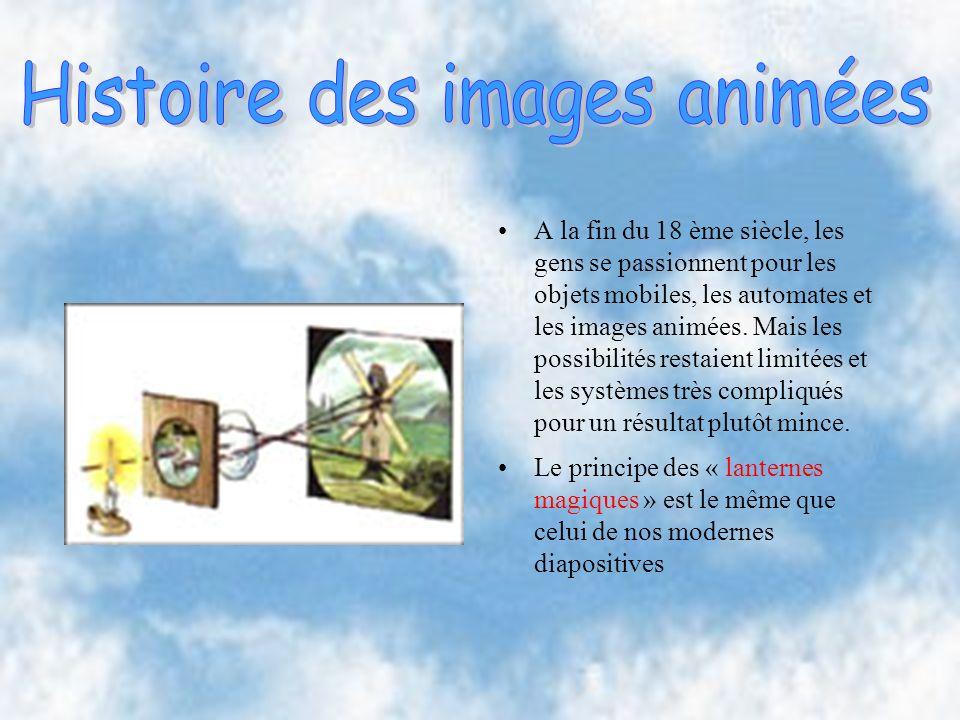 Histoire des images animées