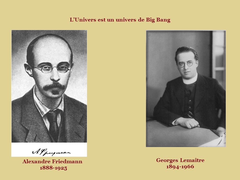 L'Univers est un univers de Big Bang