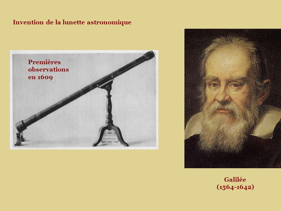 Invention de la lunette astronomique