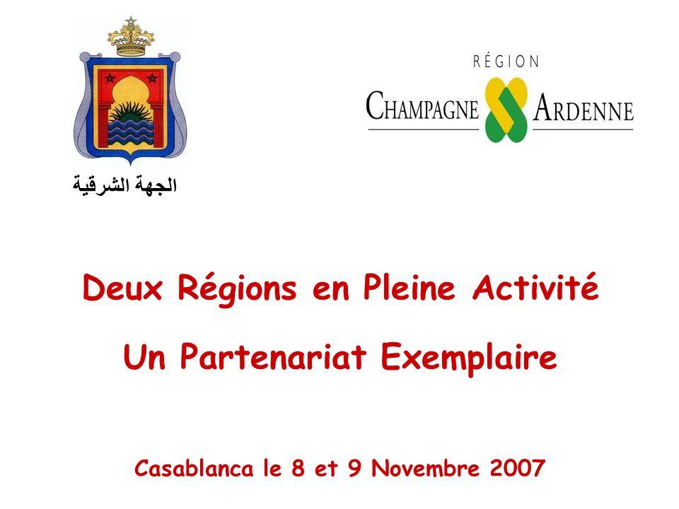 Deux Régions en Pleine Activité Un Partenariat Exemplaire