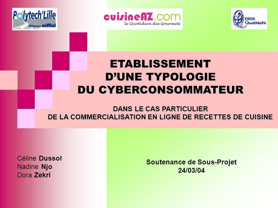 DANS LE CAS PARTICULIER Soutenance de Sous-Projet