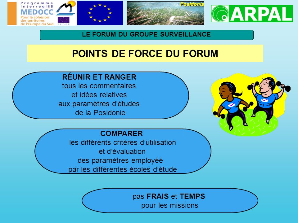 POINTS DE FORCE DU FORUM