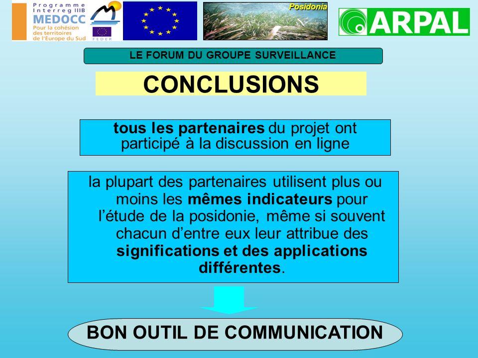 LE FORUM DU GROUPE SURVEILLANCE BON OUTIL DE COMMUNICATION
