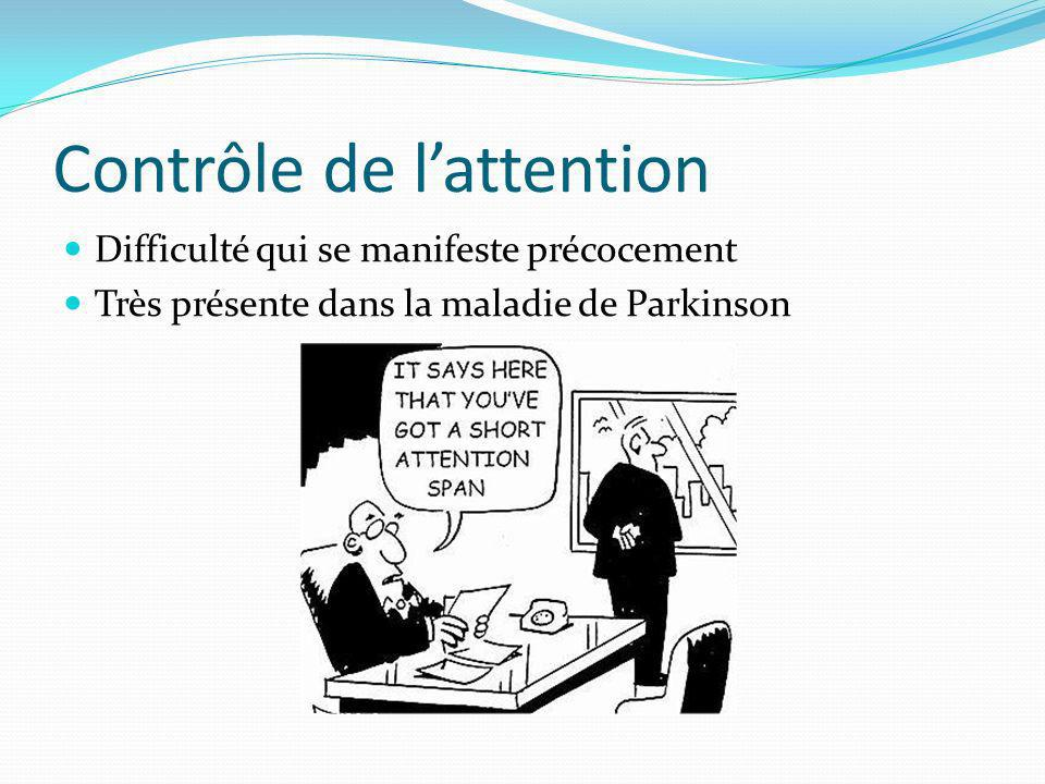 Contrôle de l'attention