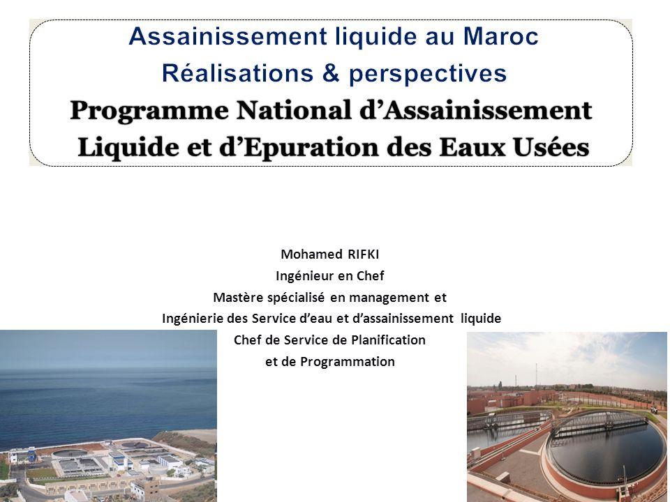 Assainissement liquide au Maroc Réalisations & perspectives