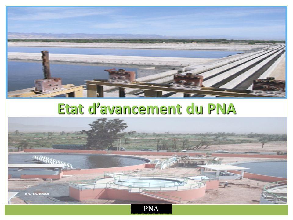 Etat d'avancement du PNA