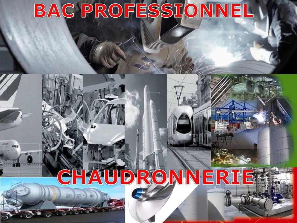 BAC PROFESSIONNEL CHAUDRONNERIE