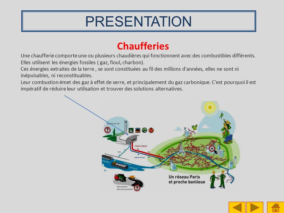 PRESENTATION Chaufferies