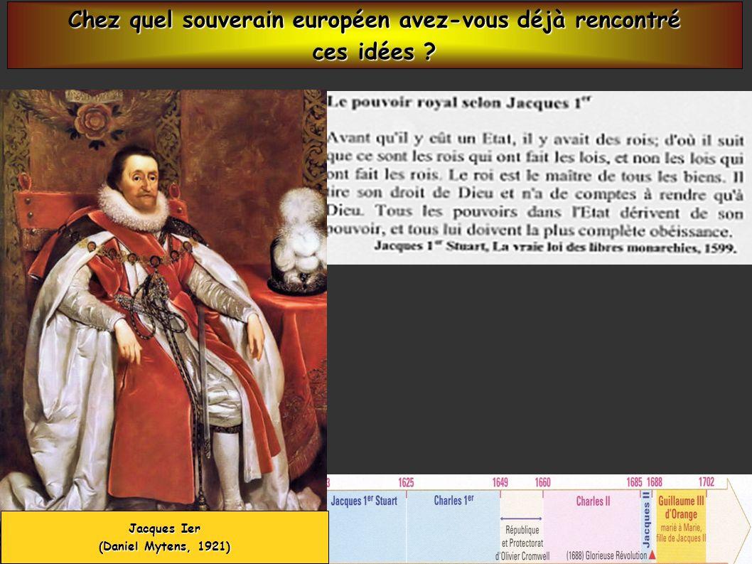 Chez quel souverain européen avez-vous déjà rencontré