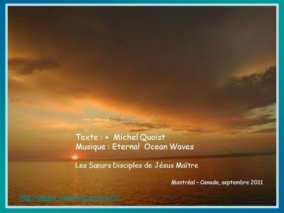 Musique : Eternal Ocean Waves