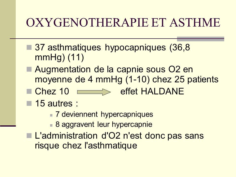 OXYGENOTHERAPIE ET ASTHME