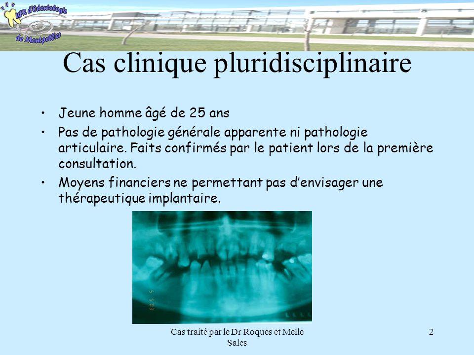Cas clinique pluridisciplinaire