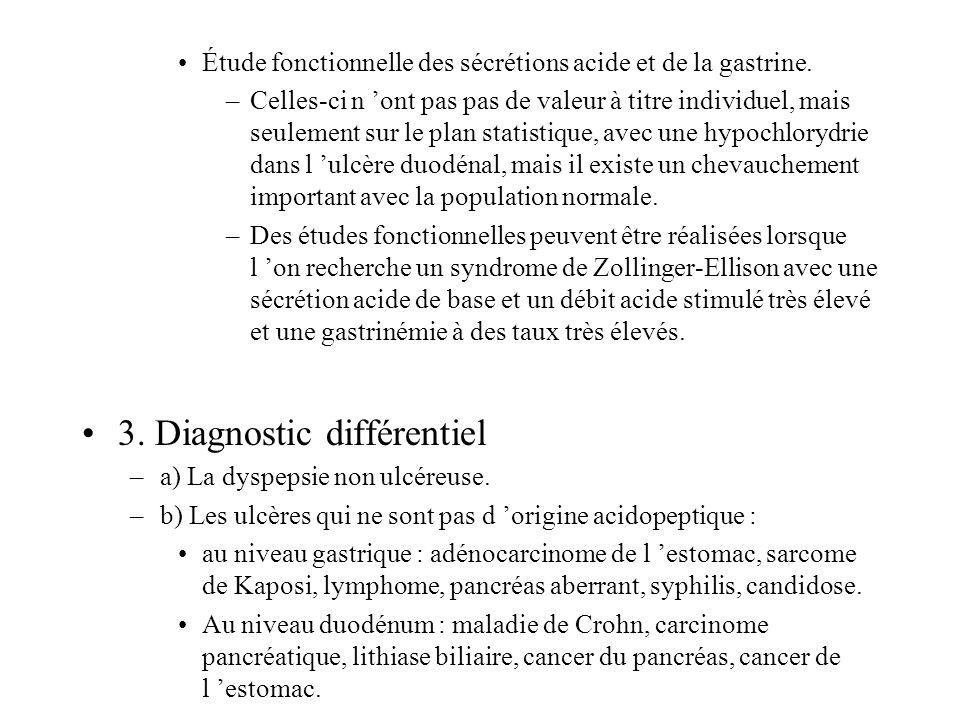 3. Diagnostic différentiel