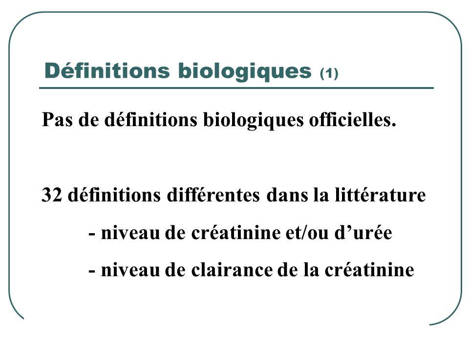 Définitions biologiques (1)