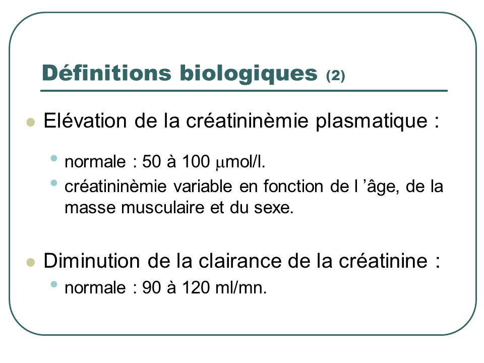 Définitions biologiques (2)