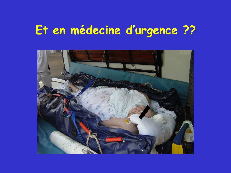 Et en médecine d'urgence