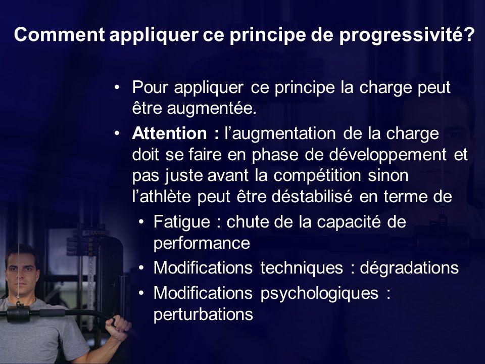 Comment appliquer ce principe de progressivité