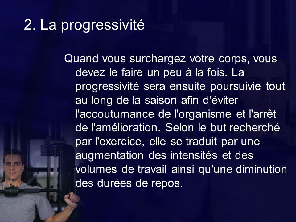 2. La progressivité