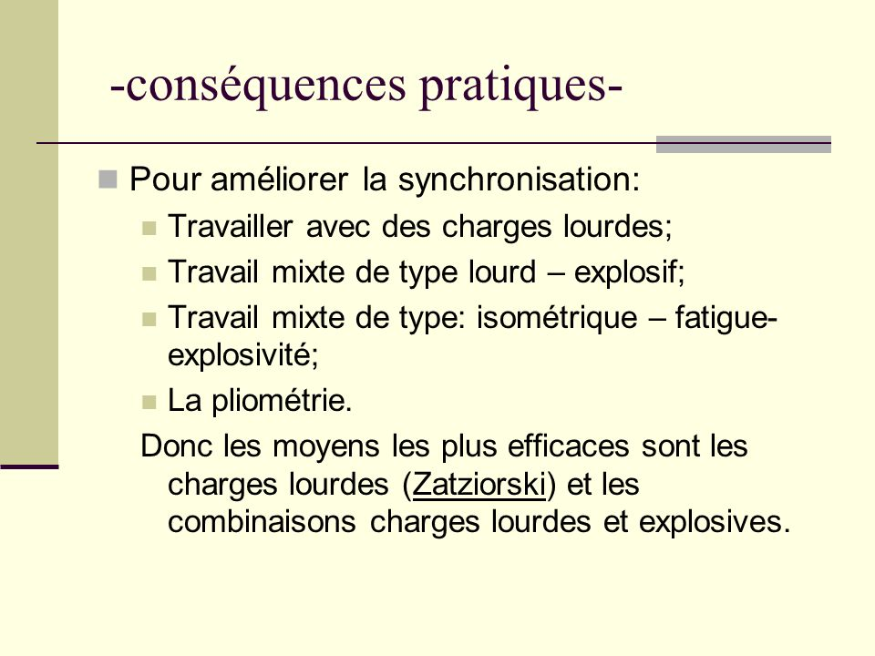 -conséquences pratiques-