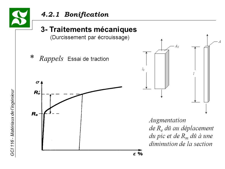 3- Traitements mécaniques