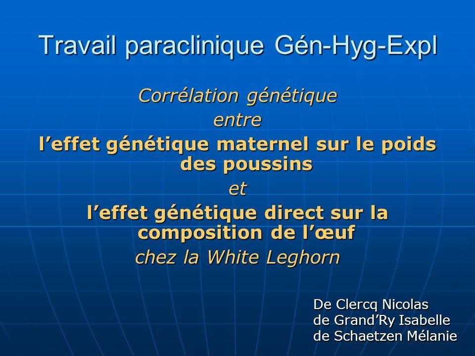 Travail paraclinique Gén-Hyg-Expl