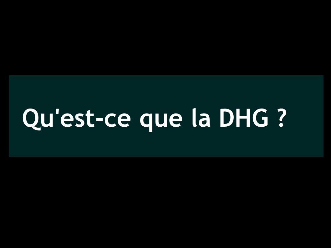 Qu est-ce que la DHG