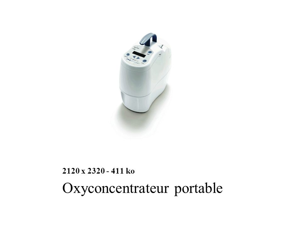 Oxyconcentrateur portable