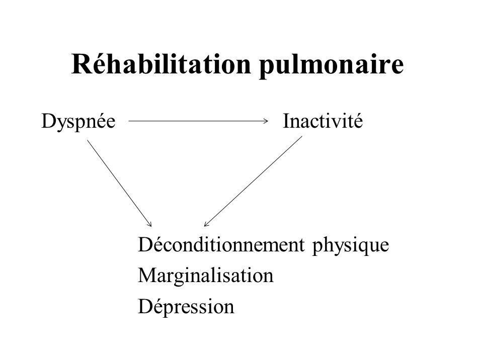 Réhabilitation pulmonaire