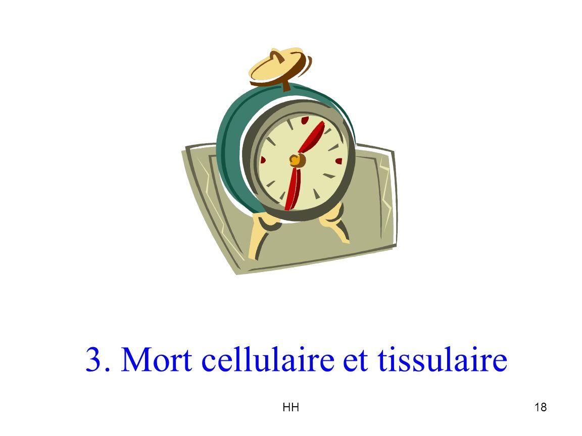 3. Mort cellulaire et tissulaire